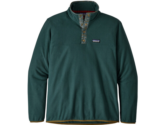 Patagonia Micro D Snap-T Pullover Heren, piki green
